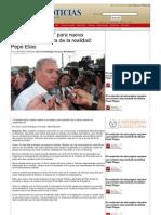 27-08-2013 Nombres 'filtrados' para nueva administración fuera de la realidad, Pepe Elías