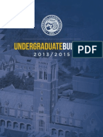 2013-2015 Undergraduate Bulletin