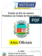 diario oficial de nova iguaçu de 30 de agosto de 2013.