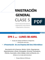 Ip Chile - Adm. General - Clase 5