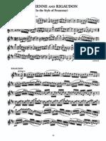 Kreisler - Sicilienne and Rigaudon - Violin
