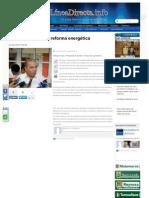 28-08-2013 Pepe Elías apoya la reforma energética