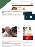 28-08-2013 Reforma energética beneficiará a Reynosa, Pepe Elías