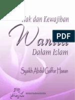 Hak Dan Kewajiban Wanita Dalam Islam