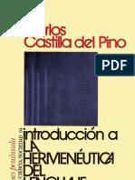 (L) Del Pino, Carlos Castilla - Introduccin a la hermenutica del lenguaje.pdf