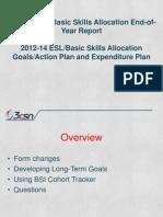 3CSN BSI Reporting 2013