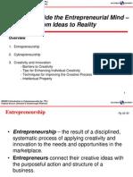 Lec 2 Inside Entrepreneurial Mind Stud
