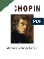 Chopin - Mazurek G-Dur HARMONIA