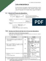 12-Introducción de la Correción Atmosférica-Manual de instrucciones Estación Total TOPCON GPT 2006