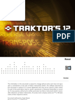 NI Guitar Rig Traktor's 12 User Manual (English)