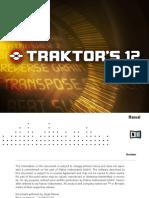 NI Guitar Rig Traktor's 12 User Manual (English)