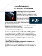 Extremely Important - Truth of Climate Crisis in Brief
