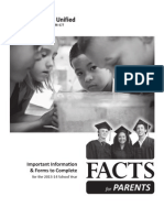 facts for parents 2013 2014