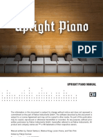 NI Kontakt Upright Piano Manual