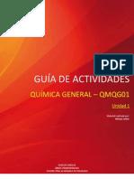 GUÍA DE ACTIVIDADES QUÍMICA GENERAL - QMQG01 - U1