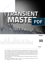 NI Guitar Rig 5 Transient Master Manual English
