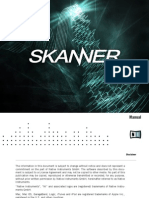 NI Reaktor Skanner Manual English