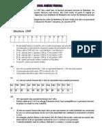 Codul Numeric Personal-CNP