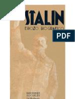 Stalin - Esbozo Biografico