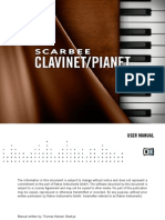 NI Kontakt Scarbee Clavinet and Pianet Manual English