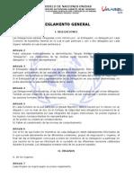 Reglamento General Del Umunbol