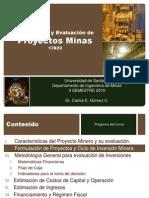 Clase 2 Formulación de Proyectos y Ciclo Minero