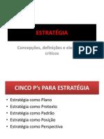 ESTRATÉGIA - aula 04