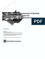Damage Tolerance Assessment of Bonded Composite Doubler Repairs for Commercial Aircraft Application