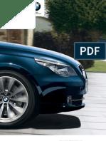 BMW 5series Sedan Catalogue