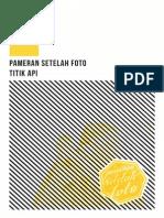 Setelah Foto exhibition catalogue 2013