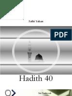 Hadith Arbain dgn penjelasan singkat