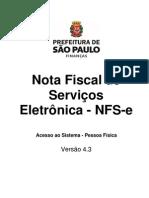 Manual NFe PF