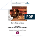 Caracteristicas Derecho Privado