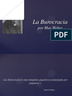 Burocracia Por Max Weber