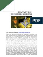 Bolívar y las sociedades secretas