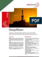 MCSK DeepRiser Datasheet
