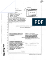Briefing Schedule Judge Kenny Ruling