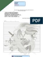 FOLHAS de FICHARio Imprimir 100 Folhas