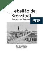 A Rebelião de Kronstadt-Alexander Berkman