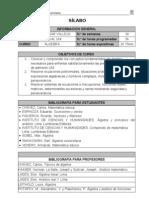 Algebra Anual Uni 2012 - II