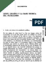 Biagio de Giovanni - Lenin, Gramsci y La Base Teorica Del Pluralismo