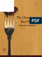 The Chemistry of Beef Flavor