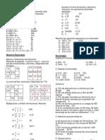 Guía de Nivelación Primer Ciclo Matemáticas