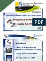 Proyectos electrónicos de las Administraciones Publicas