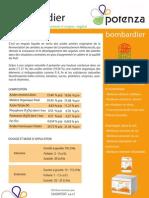 Potenza Bombardier Anverso