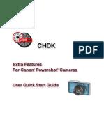 CHDK User Quick Start Guide