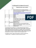 Resumen de La Bibliografia de La Materia_economia II