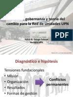 Gestion Gobernanza Teoria Del Cambio Para La Red de Unidades Upn-marzo2012
