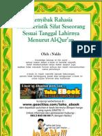 Tanggal Lahir Menurut Al Quran