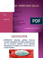 Exposicion de Leucocito